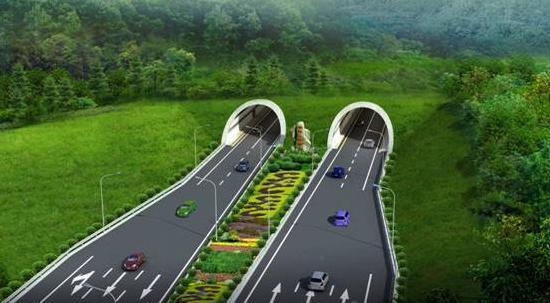 渔洋山隧道工程位于太湖边渔洋山风景区,起于孙武路与环太湖大道交叉